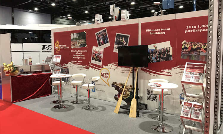 Dragon Boat Exhibition Stand