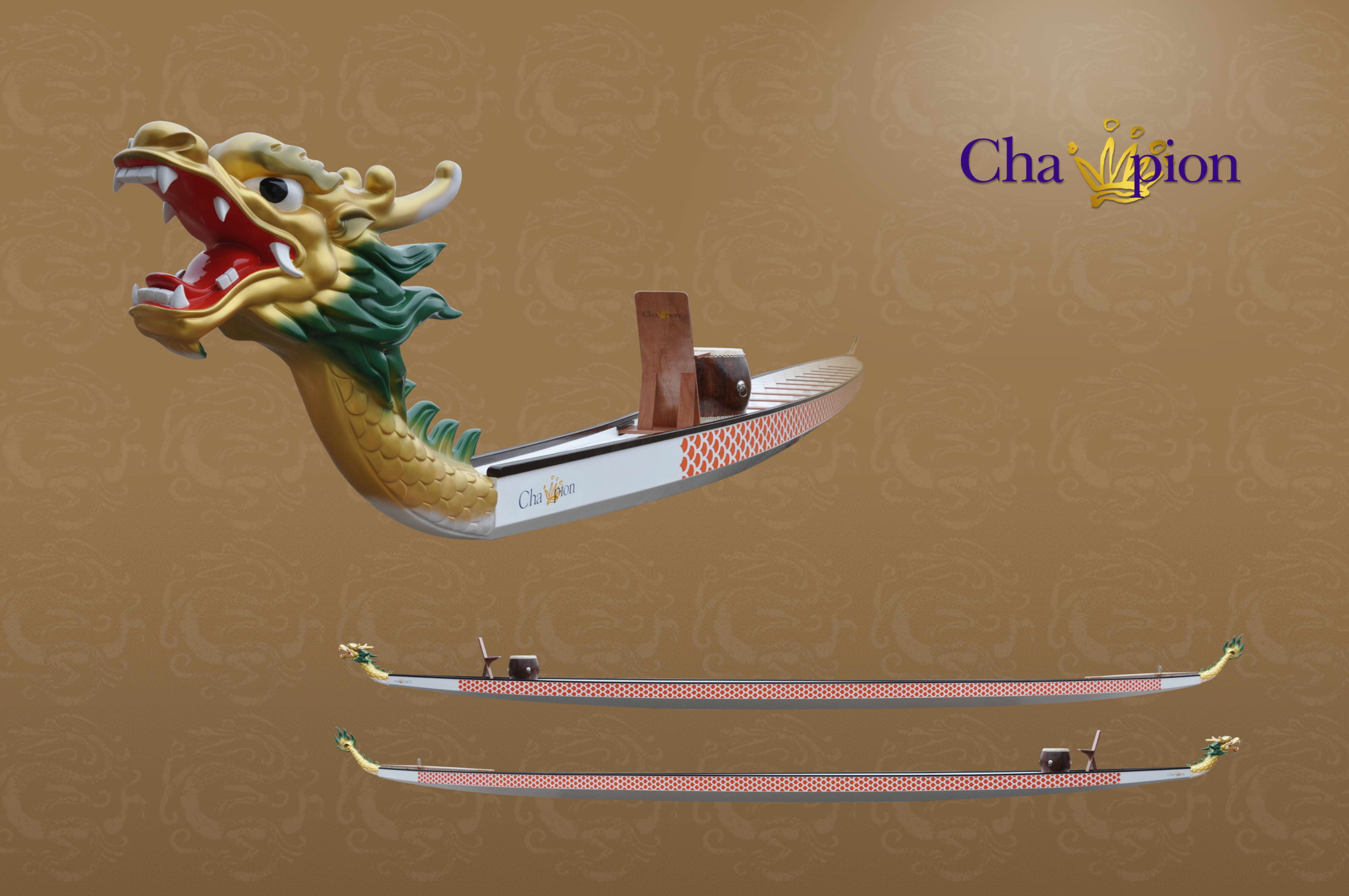 12 m / 22 person dragon boat