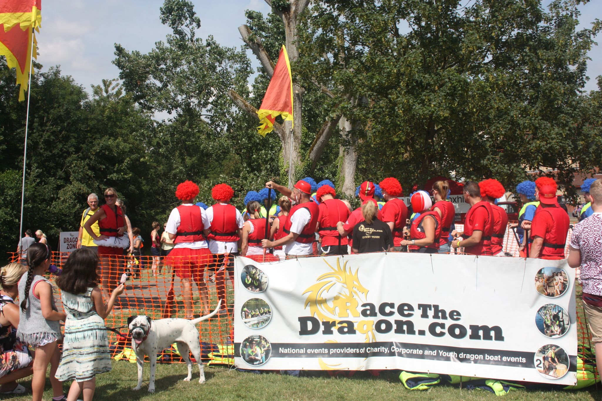 Charity Dragon Boat Racing Events