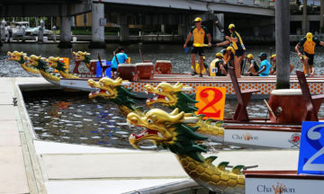 The Fresh Start Charity Dragon Boat Challenge