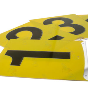 Champion Dragon Boat Lane number boards