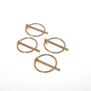 Trolley wheel pins