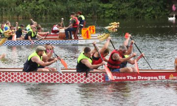 Really Helpful Club Dragon Boat Challenge
